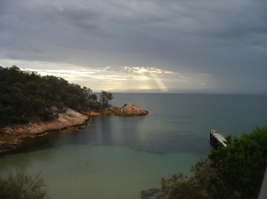 Sunset @ Freycinet, Christmas day 2010
