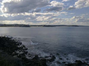 towards the Northern beaches